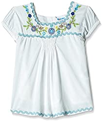 Donuts Baby Girls' Blouse (267821932_White_18 Months)