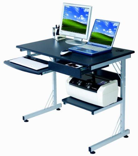 Buy Low Price Comfortable Sharper Image SI2718-GPH06 Computer Workstation with 3-Port USB Hub, Graphite (B004M8RME8)