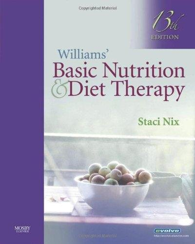basic nutrition and diet therapy Part of the popular lpn threads series, williams' basic nutrition & diet therapy is the market leader for a reason: you get coverage of hot topics, emerging trends , and cutting edge research, plus all the essentials for providing the best nutrition care written in a clear, conversational style, the book begins with the.