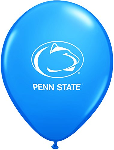 "Pioneer Balloon Company 10 Count Penn State Latex Balloon, 11"", Multicolor"