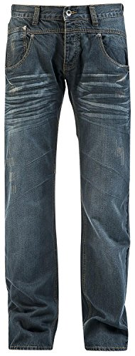 Forplay Stan Jeans blu scuro W34L34