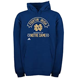 Adidas Notre Dame Fighting Irish Adult Athletic Front Hooded Sweatshirt by adidas