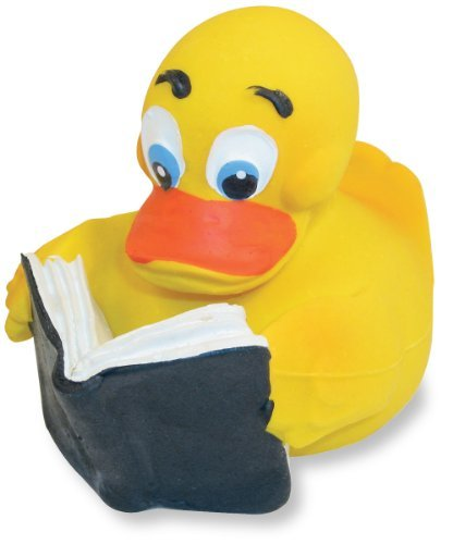 Rich Frog Original Rubber Duck - Reader Duck