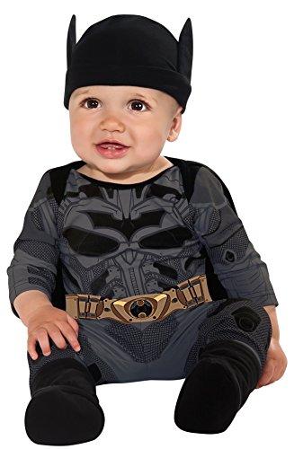 Batman The Dark Knight Rises Batman Onesie, Multi-Colored, Infant (6-12 Months)