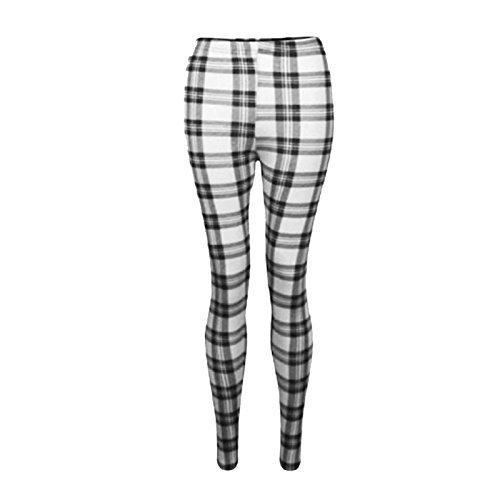 A2Z-4-Kids-Girls-Leggings-Kids-Tartan-Check-Print-Trendy-Fashion-Legging-New-Age-7-8-9-10-11-12-13-Years