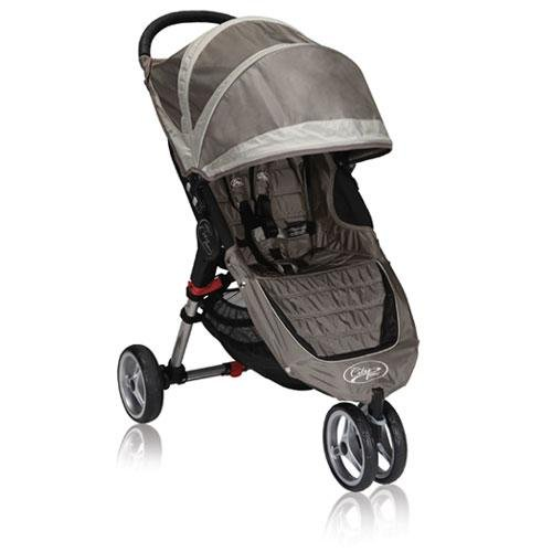 Baby Jogger 2012 City Mini Single Stroller, Sand/Stone (Discontinued By Manufacturer) front-1011190