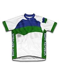 Komi Flag Short Sleeve Cycling Jersey for Women