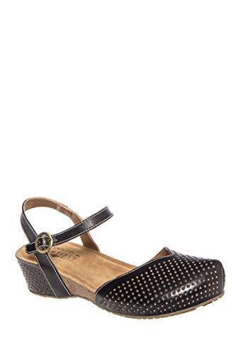 Lizzie Low Wedge Sandal