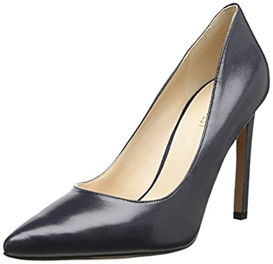 Nine West Women's Tatiana Dress Pump,Navy,5 M US