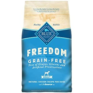 Blue Buffalo Freedom Grain Free Chicken Recipe Adult Dry Dog Food, 24-Pound