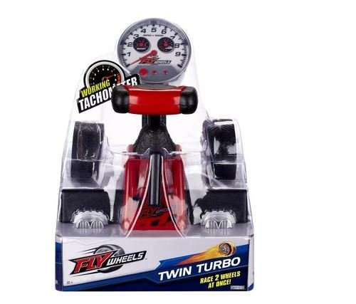 Fly Wheels Twin Turbo Launcher - Red