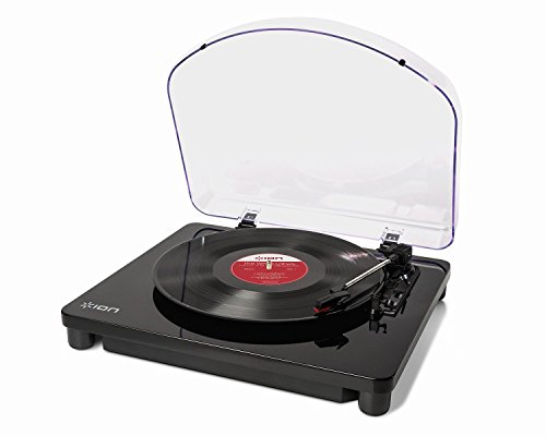 Ion Audio Professional DJ 3-Speed Turntable with EZ Vinyl/Tape Converter Software CD RCA Stereo Outputs & Dust Cover Included (Turntable With Rca Output compare prices)