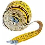 Metrica 22091 Mètre à ruban pour Couturier 1,5 m