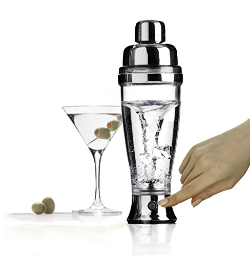 Metrokane Rabbit Electric Cocktail Mixer, 18-Ounce