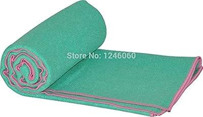 Superior Quality 185*63cm Microfiber Yoga Towel Yoga Mat Blanket Sweat Absorbing Slip-resistant Antibiotic Eco-friendly