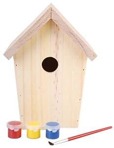 Esschert Design KG145 Nichoir à oiseaux Bois à peindre