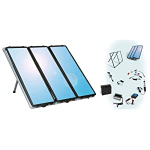 sunforce 50060 45 watt plug and play solar charging system automotive. Black Bedroom Furniture Sets. Home Design Ideas