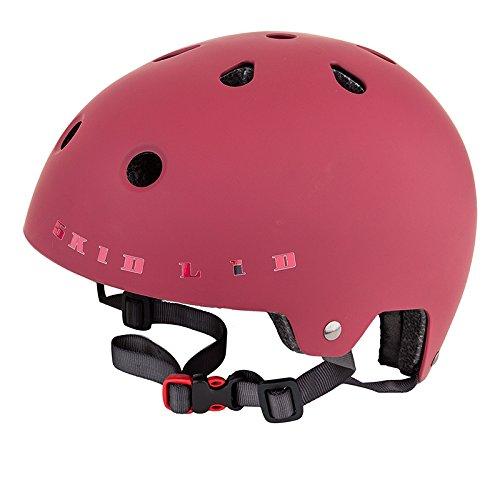 Airius Skid Lid Pro2 Hard Shell Helmet, L/XL, Matte Red