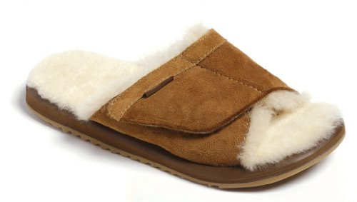 Cheap Moszkito Fuzzy Sheepskin Arch Support Slippers – Women – 1106 09 M US (B002YSC3MY)