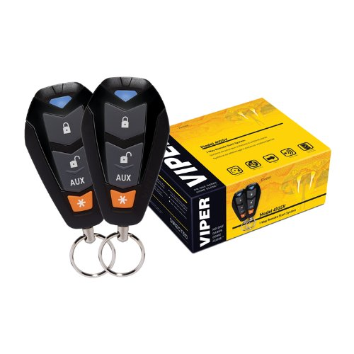 Viper 4105V 1-Way Remote Start System (Remote Starter Alarm compare prices)