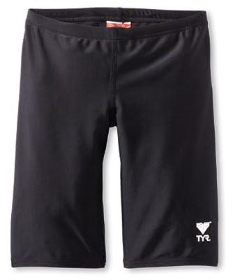 TYR Sport Boys' Solid Jammer Swim Suit