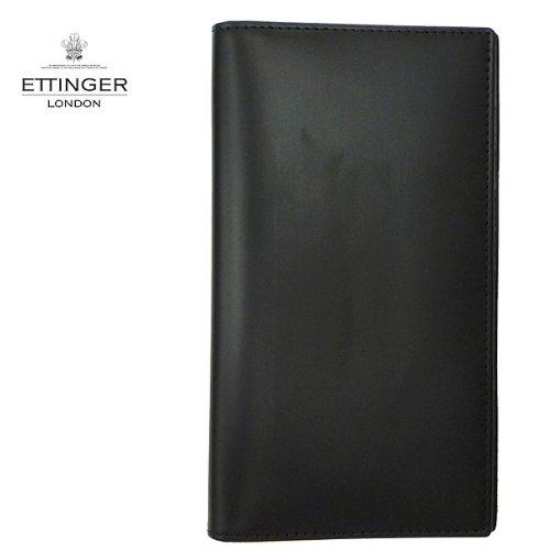 ETTINGER【エッティンガー】 二つ折長財布 806AJR (並行輸入品) (Black)