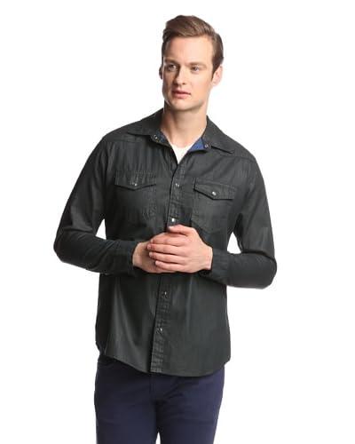 Mavi Men's Andy Coated Shirt