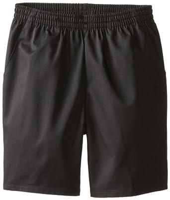 CLASSROOM Big Boys' Husky Unisex Pull-On Short, Black, 8H