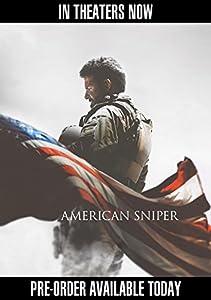 American Sniper (Blu-ray + DVD + Digital HD UltraViolet Combo Pack) by Warner Home Video
