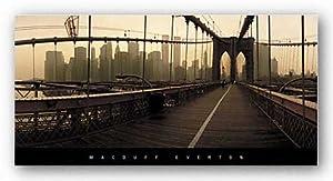 amazoncom 20x40 macduff everton brooklyn bridge new