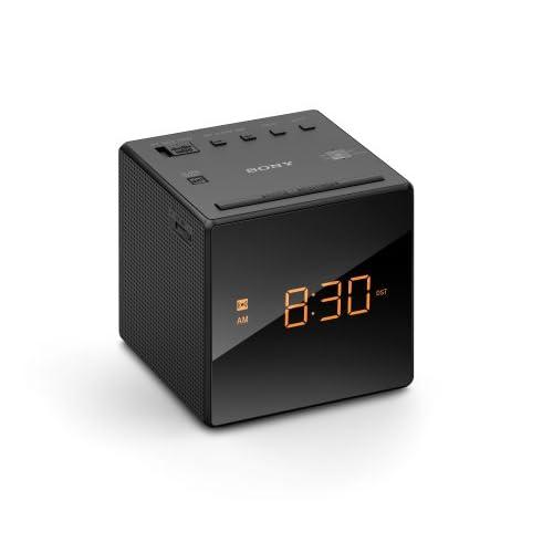 Sony ICFC1 Alarm Clock Radio, Black