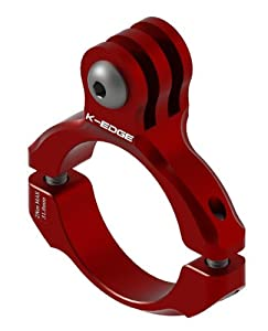 K-EDGE GO BIG Handlebar Mount for GoPro Hero (K13-410 Red)