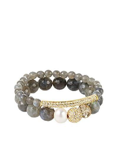 Devoted Bracelet Set, Gray