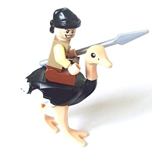 Lego Prince of Persia Mini Figure - Ostrich and Jockey with Spear