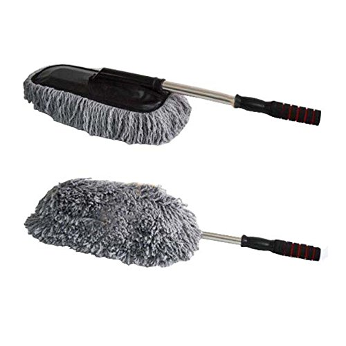autofurnish car cleaning duster tool large microfiber telescoping duster available at amazon for. Black Bedroom Furniture Sets. Home Design Ideas