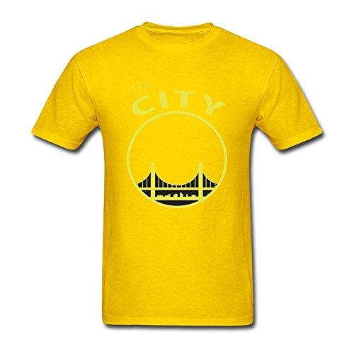 Men 39 s san francisco the city t shirt xxx large yellow for Salesforce free t shirt