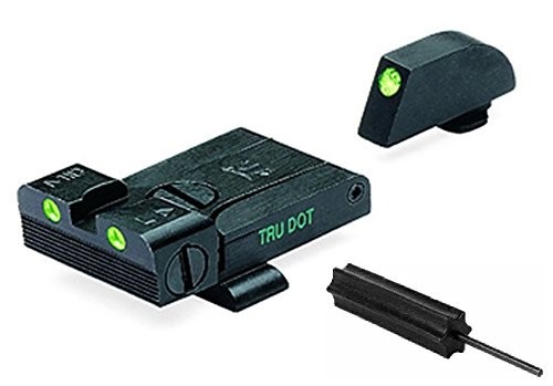 Meprolight The Mako Group Ml20224 Glock® Tru-Dot® Adjustable Night Sight Set - 9Mm, .357 Sig, .45 S&W & .45 Gap + Ultimate Arms Gear Pro Disassembly 3/32 Pin Punch Armorers Gunsmith Tool