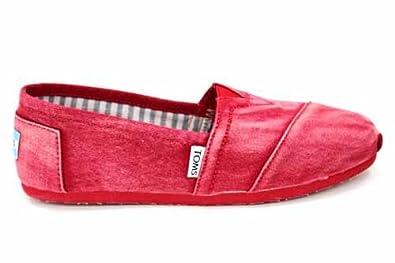 F1674D Toms Classics Womens Washed Espadrilles Shoes Us 10 Uk8