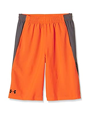Under Armour Short Entrenamiento Skill Woven (Naranja)