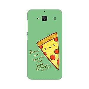 PosterHook Pizza Love Redmi 2 Prime Designer Case