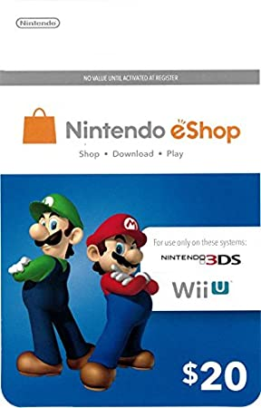 eCash - Nintendo eShop Gift Card $20 - Wii U / 3DS [Digital Code]