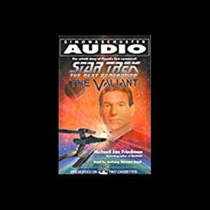 Star Trek, The Next Generation: The Valiant (Adapted) Audiobook