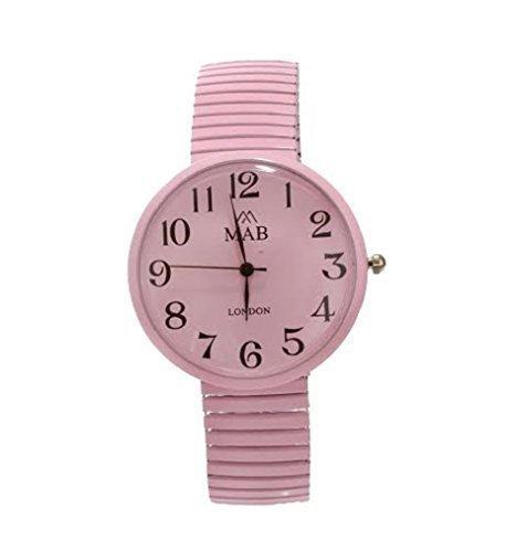 montre-unisexe-rose-extensible-styliste-mab-mode-bracelet-extenseur