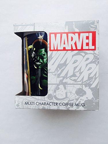 Marvel Multi Character Coffee Mug (Marvel Character Mug compare prices)