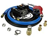 Diesel Oil Fuel Transfer Pump Kit with auto Nozzle, Hose & Accessories 230v 50 Lpm Bio