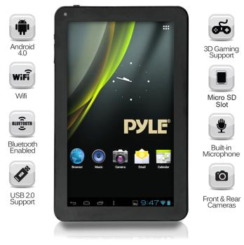 Versatile Multimedia Capability - The Pyle Astro PTBL92BC