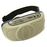 ハンズフリー拡声器(電池式) 耳かけマイク付HL-116