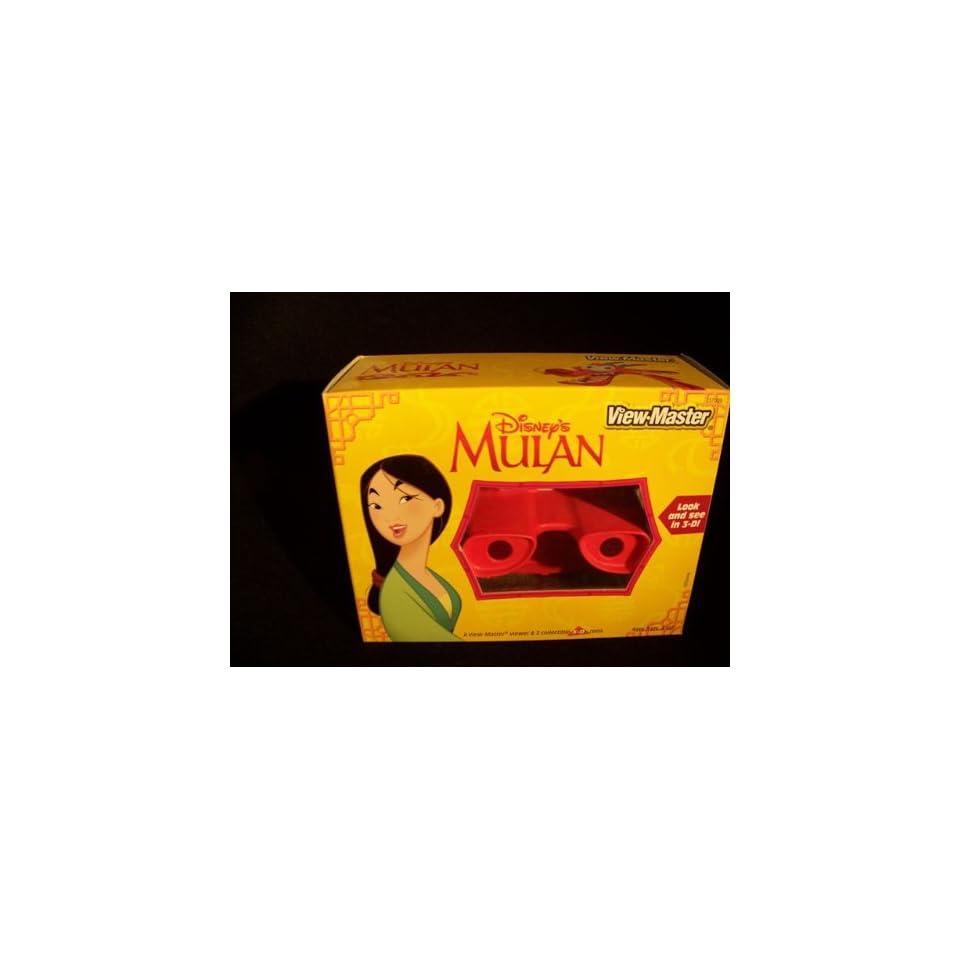 Disneys Mulan View Master viewer & 3 collectible 3 D reels