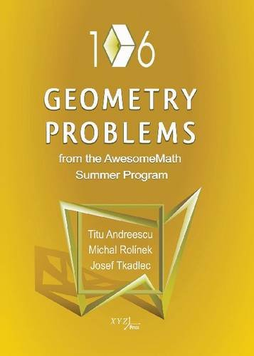 106 Geometry Problems from the Awesomemath Summer Program
