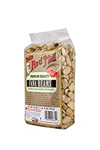 Bob's Red Mill Fava Beans, 20-Ounce Packages (Pack of 4)